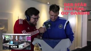 Danmarks største landsholdsfan møder endeligt Niklas Bendtner