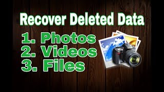 How to recover deleted photos and Videos in Android|| Recover deleted data || its 4 U