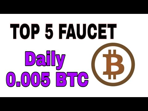 Top 5 Faucet Site 2018 | Best Highest Paying Bitcoin Faucet - YouTube