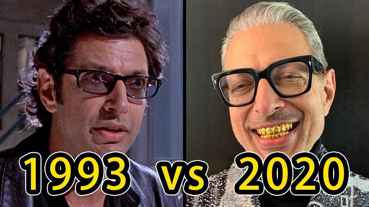 【全球百大票房電影】Jurassic Park(1993) Cast Then and Now - YouTube