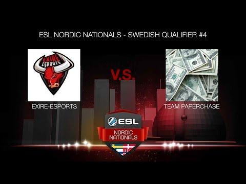 eXire-eSports vs. Team PaperChase (ESL NORDIC NATIONALS - SWEDISH QUALIFIER #4)