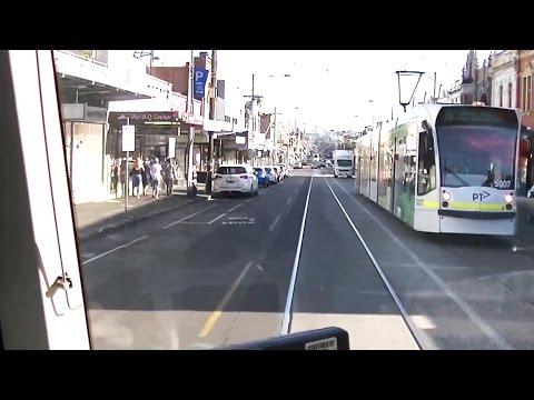 Driver's View Melbourne Tram 19 Pt 1