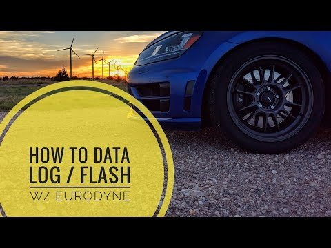 How to data log / Update tunes with Eurodyne Maestro + Some sweet pulls | MK7 Golf R