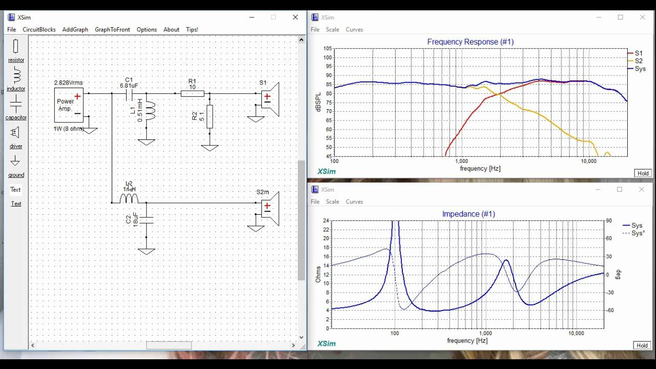 crossover design software xsim tutorial for hifi speakers youtubecrossover design software xsim tutorial for hifi speakers