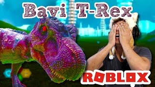 😂 the fate of a baby T-REX | Dinosaur SiMULATOR ROBLOX INDONESiA