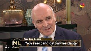 """José Luis Espert en """"Almorzando con Mirtha Legrand"""" por Canal 13, el 27 de enero de 2019"""