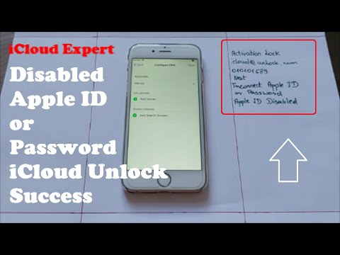 Disabled Apple ID Or Password ICloud Unlock With New Success Method✔Any IPhone IOS Free & 100% Works