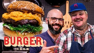 Binging with Babish and Matty Matheson's Krabby Patty-Inspired Burger Throwdown | The Burger Show