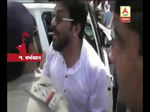 BJP MP from Asansol Babul Supriyo stopped from going to his constituency after clashes bro