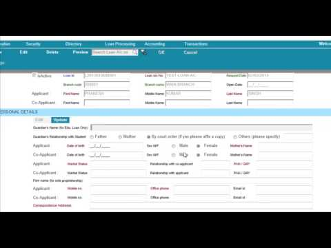 Banking software of Core Banking and MicroFinance Loan Processing    YouTube
