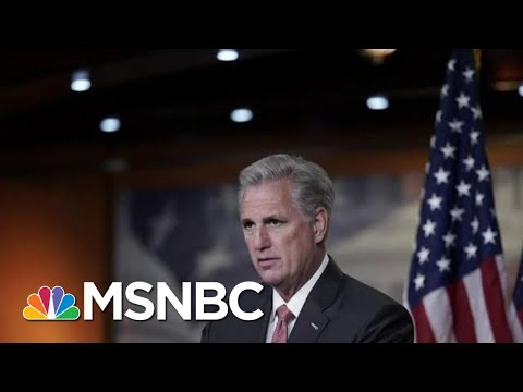 Rep. Kevin McCarthy Releases Statement Warning Against Impeachment   MTP Daily   MSNBC