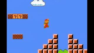 Super Mario Bros - Super Mario Bros World 1-1 (NES) - User video