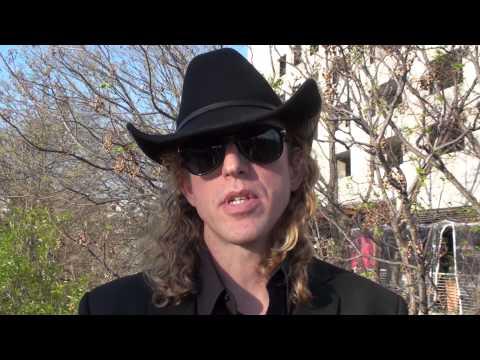 Matt Hubbard  ~ 2013 Austin Music Awards ~ Greezy Wheels Band Award Winner