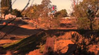 Nate Adams FMX at home