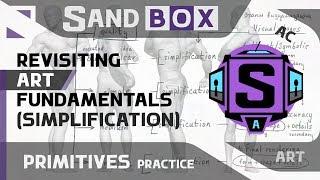 (Человек Упрощение) Сессия 60 - Creative Sandbox [RUS/eng] (Пересмотр основ рисования)
