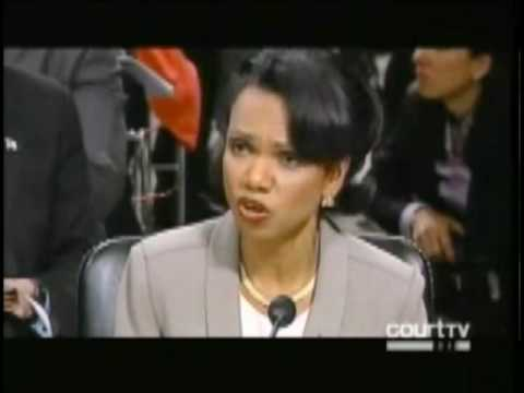 Condi Lied Under Oath to the 9-11 Widows