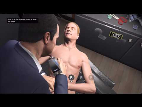 GTA V: Lazlow Tattoo Torture