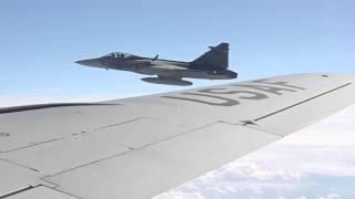 Saab JAS 39 Gripen Over Slovakia