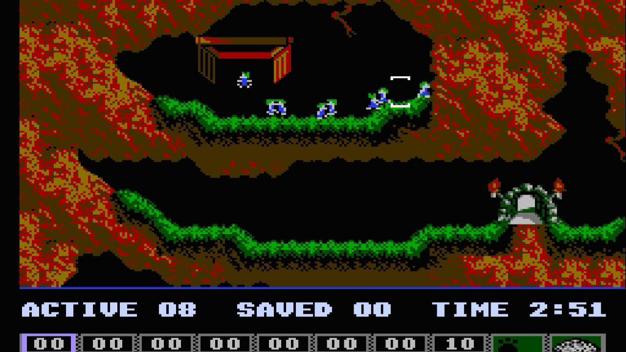 lemmings video game youtube