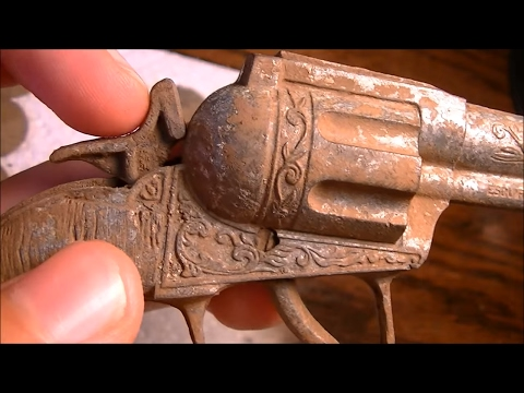 Thumbnail: 5TH COMPLETE GUN THIS YEAR! METAL DETECTING FINDS 2015 + GOODWILL THRIFT SHOPPING HAUL!