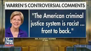Police, Sessions slam Elizabeth Warren for calling criminal justice system 'racist'
