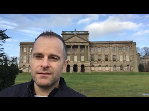 Lyme Park in Winter - Garden and Castle Folly