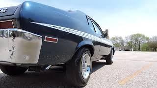 1973 Chevy Nova blue SS for sale at www coyoteclassics com