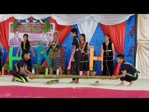 Persembahan Murid Sempena Majlis Anugerah Murid Cemerlang SK Temuno Teringai Darat Tahun 2018
