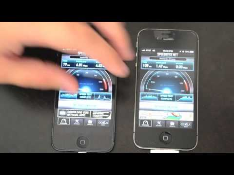 iPhone 5 vs iPhone 4S - Data Speed Test