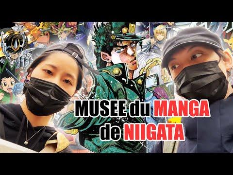 [Vlog] Manga Museum, Fish Market, Aquarium, & Food in Niigata