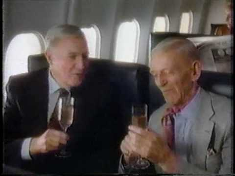 Gene Kelly & Fred Astaire for Western Airlines 1985