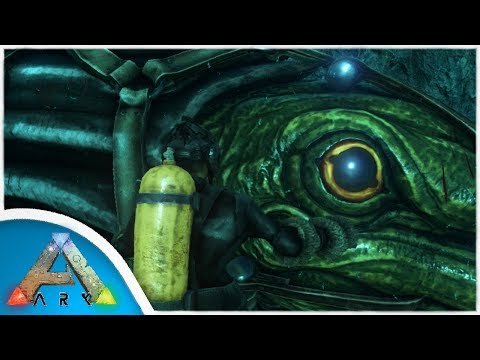 Exploring the Ocean and Tusoteuthis Tame! | Ark: Survival Evolved