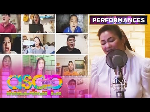 Regine And Villancico Vocal Ensemble's Heartwarming 'Heal Our Land' Rendition | ASAP Natin 'To