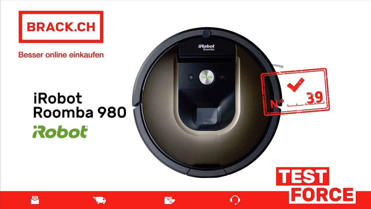 Roomba 980 Hochflor Teppich Brack Ch Test Force Nr 39 Irobot Roomba 980 Saubere Sache