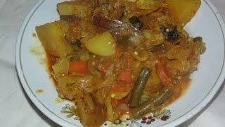 Cabbage Mix (Bandha Kobi Ghanta) Video In Hindi