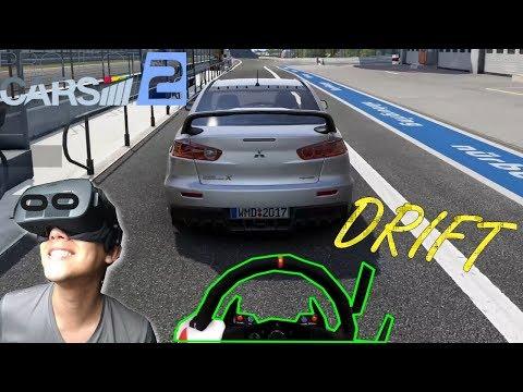 DRIFT | PROJECT CARS 2 | Mitsubishi Lancer Evo X | VR OCULUS RIFT