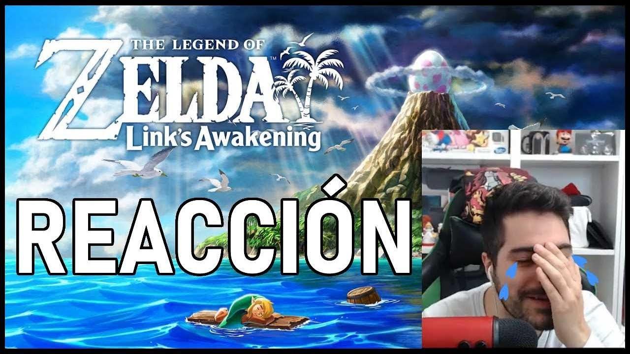 ???? LLORANDO en el NINTENDO DIRECT ???? con ZELDA Link's Awakening ????