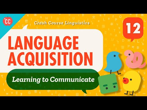 Language Acquisition: Crash Course Linguistics #12
