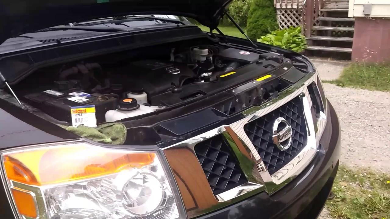 Nissan pathfinder radiator problem