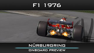 rFactor F1 1976: Germany - Nürburgring onboard preview
