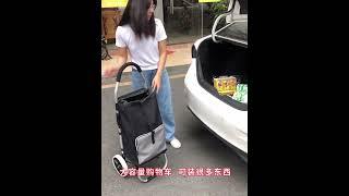 장바구니 접이식 휴대용 트레일러 가방 카트