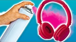 3 Easy And Fun To Make DIY Headphones
