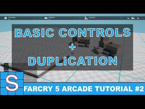Far Cry 5 Map Editor Tutorial #2 | Basic Controls & Duplicating