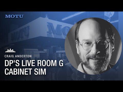 Craig Anderton: DP's Live Room G cab sim
