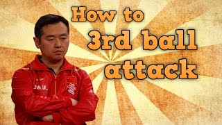 Third Ball Attack In Table Tennis | Chinese training