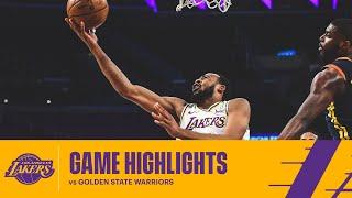 HIGHLIGHTS | Talen Horton-Tucker (11 pts, 3 stl) vs Golden State Warriors