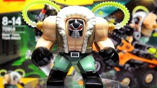 ЛЕГО ФИЛЬМ БЭТМЕН Атака Бэйна 70914 Обзор ЧУДО-ЖЕНЩИНА мнение, новинки LEGO SUPER HEROES 2018 наборы