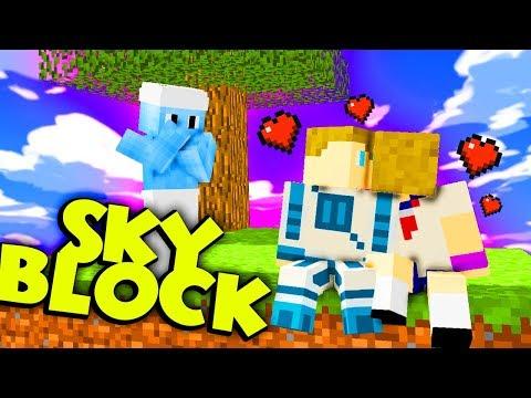 PIERWSZE PROBLEMY - Minecraft Skyblock #1