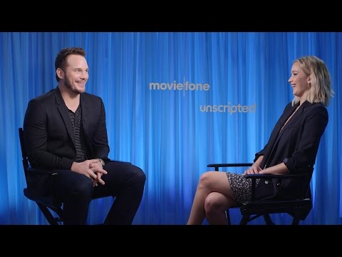 'Passengers' | Unscripted | Chris Pratt, Jennifer Lawrence