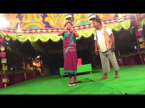 Dhatang & group comedi santali video